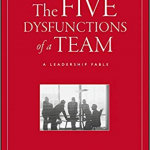 Is your team Dysfunctional or boarderline? Patrick Lencioni' The Five Dysfunctions of a team, is vital reading (and doing) to get your team into shape.